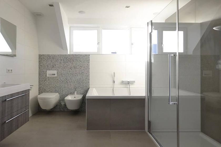 badkamer - flierbouw, Badkamer